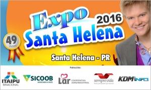 Expo Santa Helena está com 70% dos estandes vendidos. Programação faz parte dos 49 anos do município